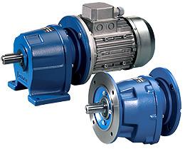 Motoreductoare, reductoare coaxiale cilindrice