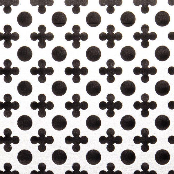 Tabla perforata decorativa gauri cruciulite